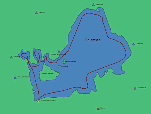 Chiemsee Tour